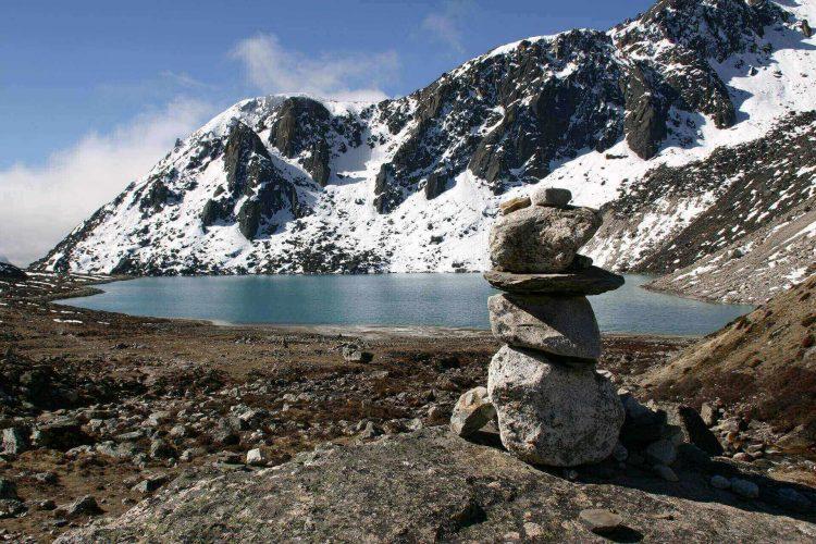 Lake in Himalaya