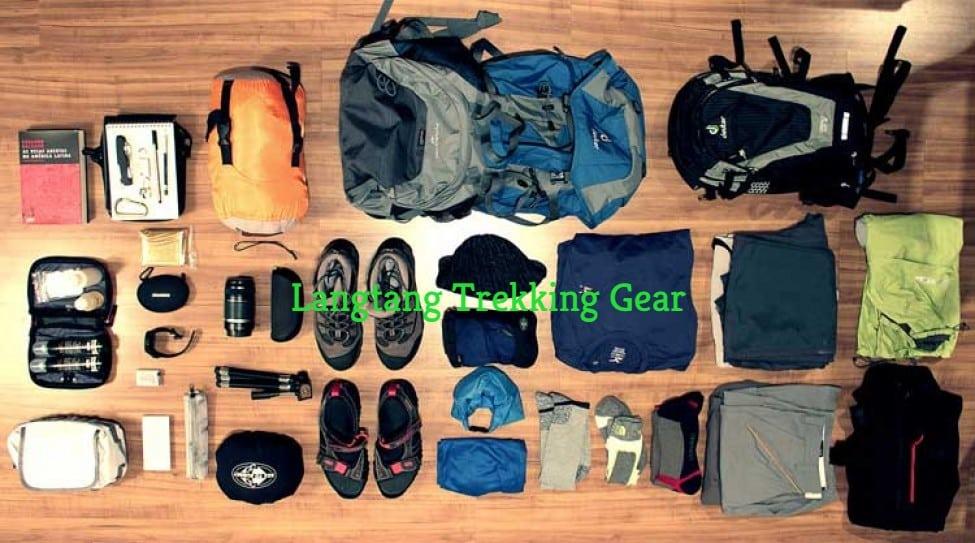 Langtang-Trekking-gear
