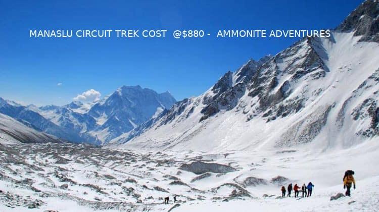 Manaslu Circuit Trek Cost